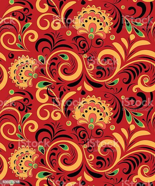 Vector russian ethnic ornament khokhloma seamless pattern in national vector id636079748?b=1&k=6&m=636079748&s=612x612&h=14svjy8ia4fq blgiioqosubh9tqyzi 22jvdmjbx0w=