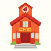 istock Vector School Building 186655818