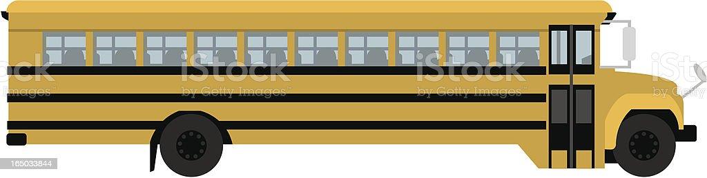 Vector Schoolbus royalty-free stock vector art