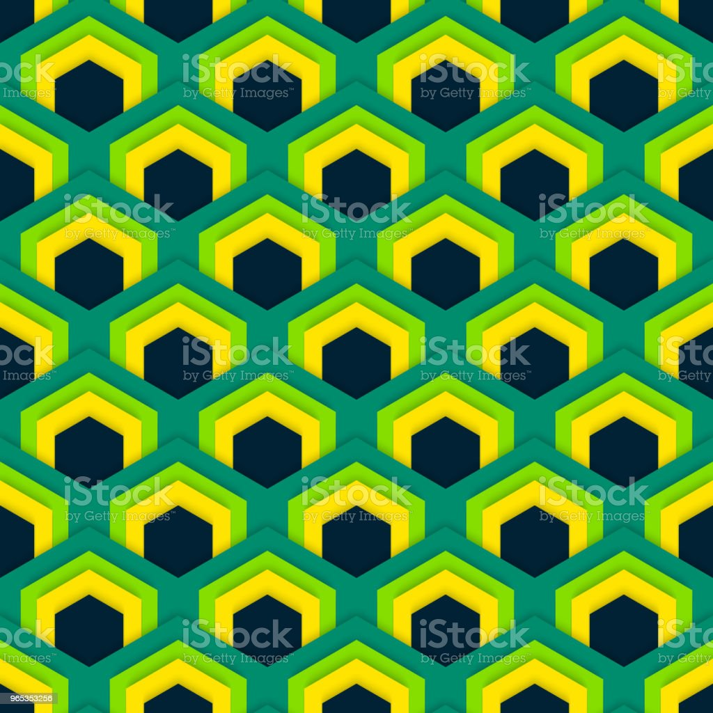 Vector seamless abstract pattern of hexagons in flat style. royalty-free vector seamless abstract pattern of hexagons in flat style stock vector art & more images of abstract