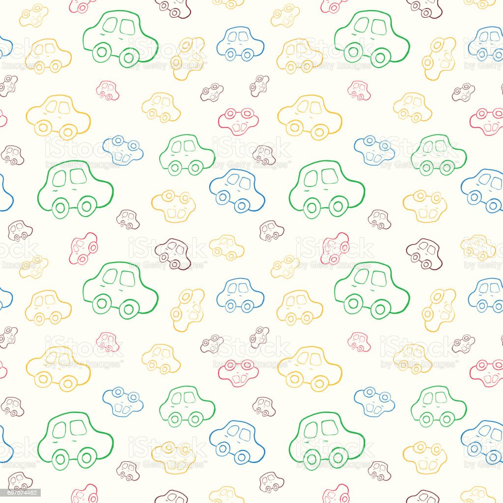 Baby Boy Hd Wallpapers: Sem Costura Bebê Menino Padrão De Fundo Vector Papel De