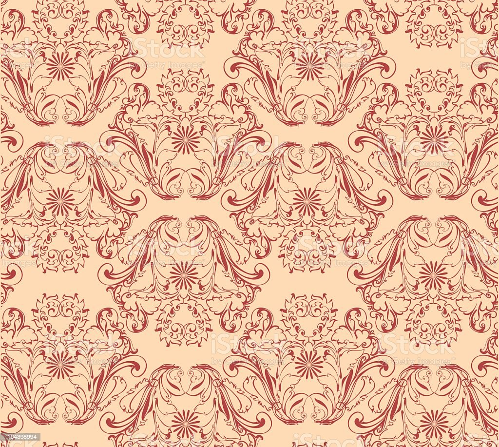 Vector seamless background Floral pattern royalty-free vector seamless background floral pattern stock vector art & more images of abstract