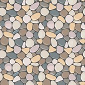Vector seamless background with smooth pebble