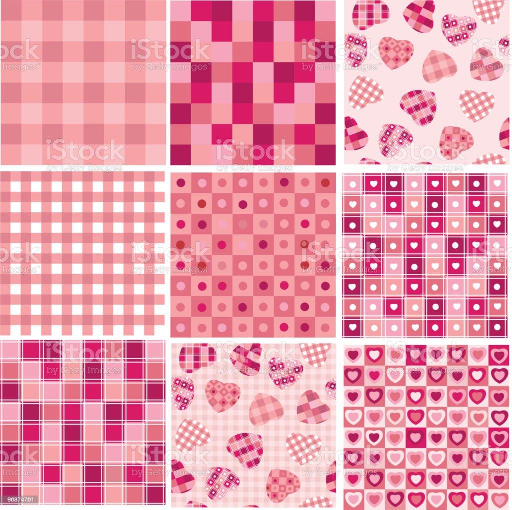 Vektor nahtlose Hintergrund für Valentinstag-design. Lizenzfreies vektor nahtlose hintergrund für valentinstagdesign stock vektor art und mehr bilder von abstrakt