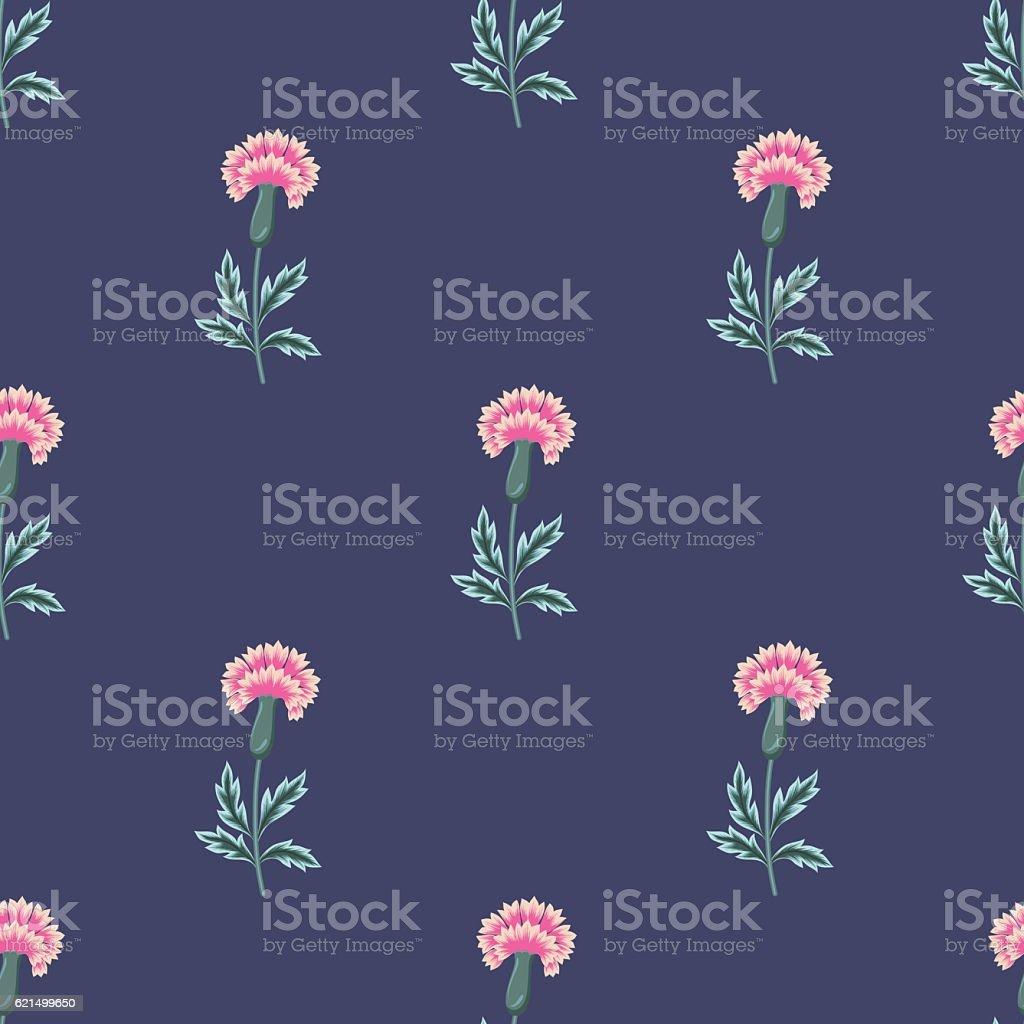 vector seamless beautiful gentle oriental carnation flower patter vector seamless beautiful gentle oriental carnation flower patter – cliparts vectoriels et plus d'images de a la mode libre de droits