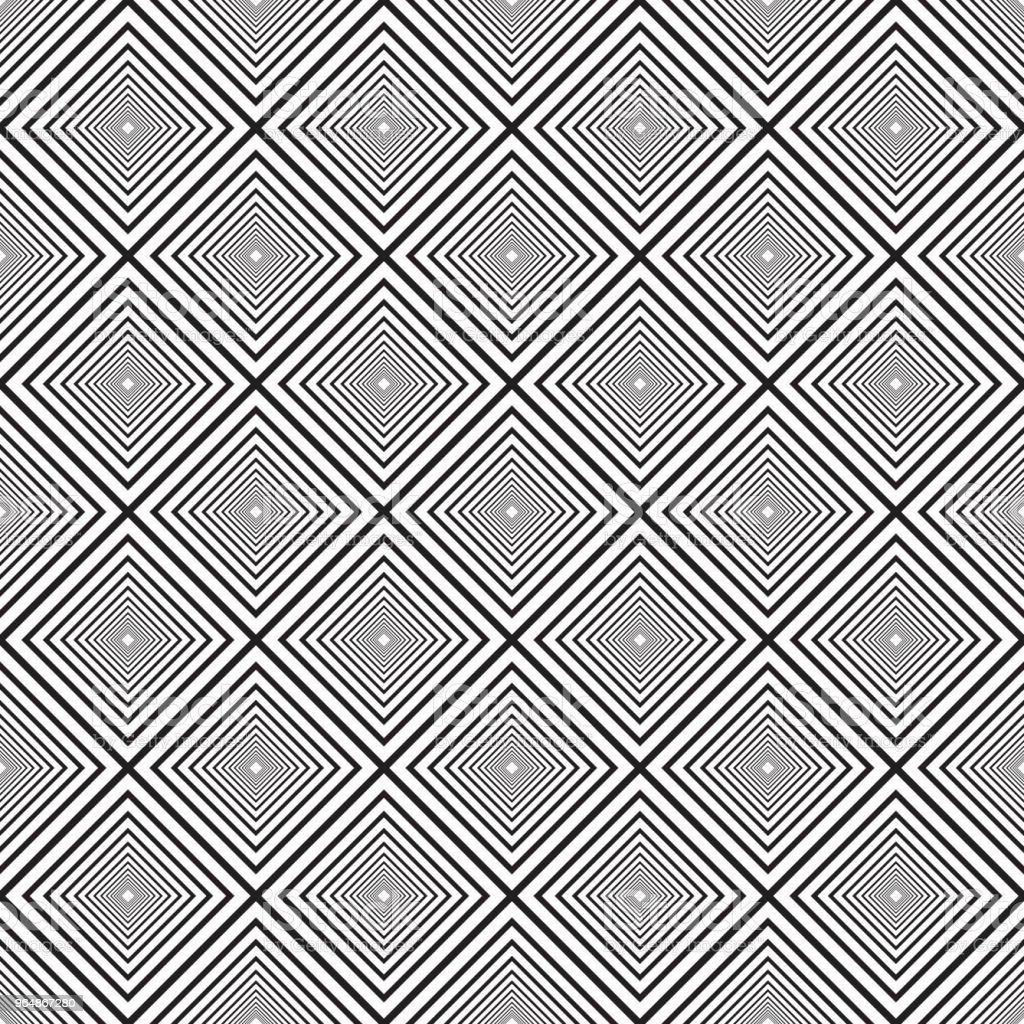 Vector Seamless Black And White Lines Pattern Abstract Background. royalty-free vector seamless black and white lines pattern abstract background stock vector art & more images of abstract