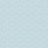 Vector seamless blue pattern. Modern stylish texture. Repeating geometric tiles with rhombuses