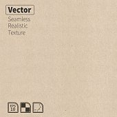 Vector seamless cardboard texture.