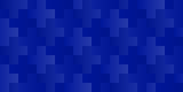 vector seamless cross or plus pattern with blue (changeable) background color for the crosses