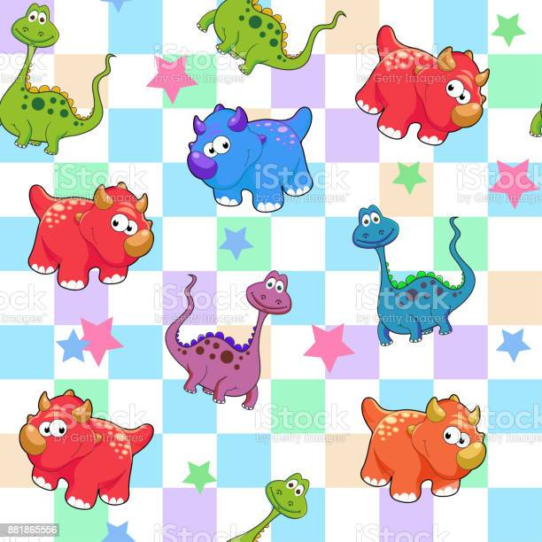 Vector seamless cute graphical cartoon dinosaur pattern childhood vector id881865556?b=1&k=6&m=881865556&s=612x612&h=p9gbhysmbggplgrr 3xe7xxyvq yknwvpbkpyq2v5b4=