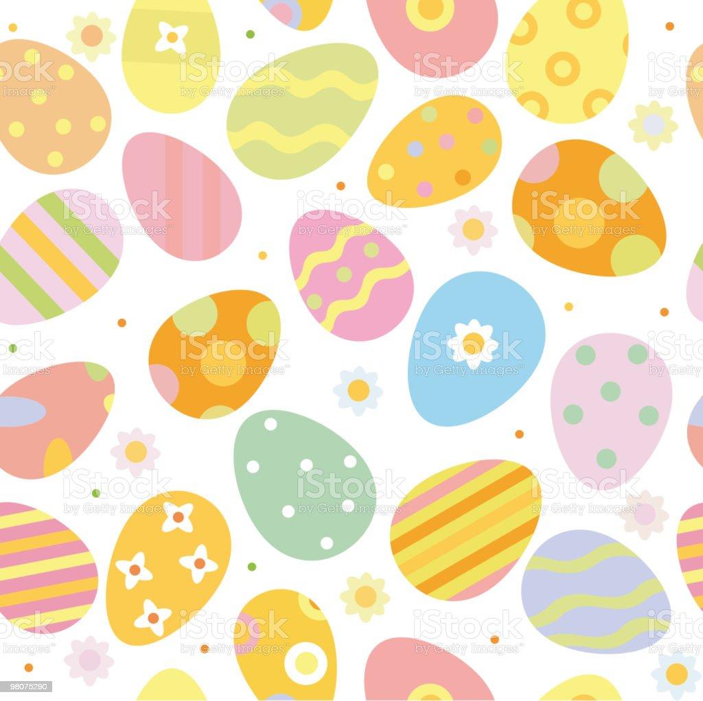 Vettore seamless pattern di uova. vettore seamless pattern di uova - immagini vettoriali stock e altre immagini di astratto royalty-free