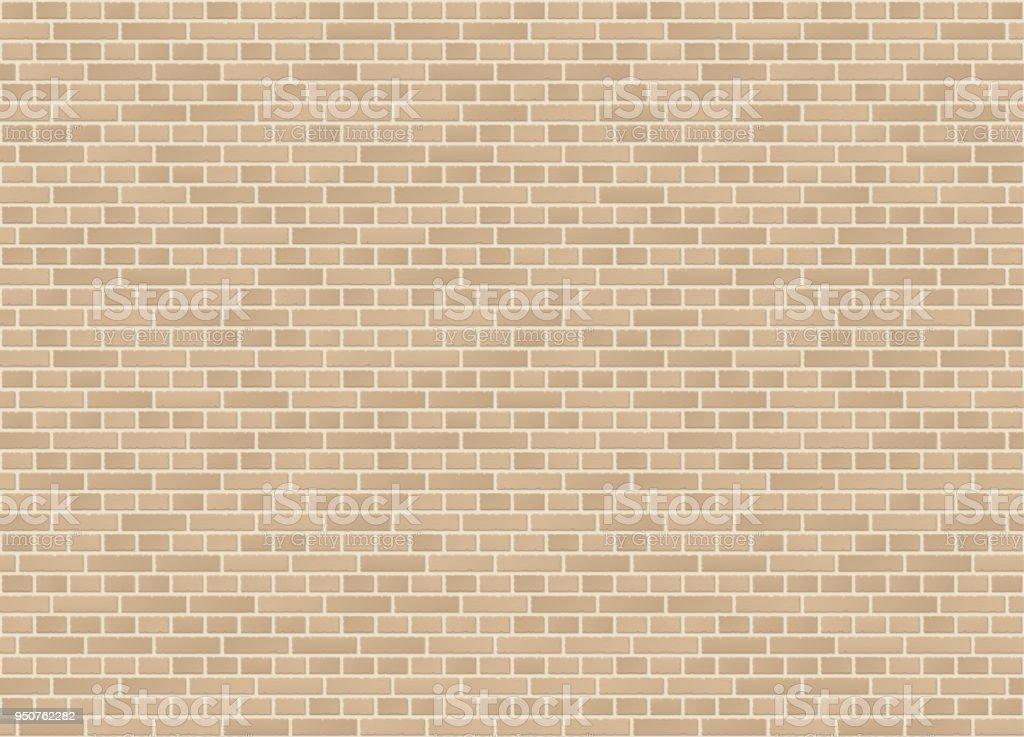 Texture de mur vecteur transparente liaison croisée anglais grès brique - Illustration vectorielle