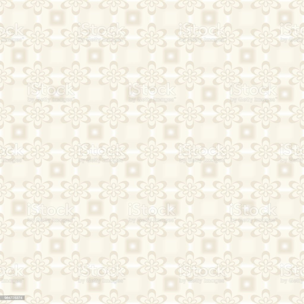 Vector seamless floral background,  pastel colors, yellow pastel color. Beige decorative flowers on a background of mesh gradient for packaging paper, wallpaper, fabric design. royalty-free vector seamless floral background pastel colors yellow pastel color beige decorative flowers on a background of mesh gradient for packaging paper wallpaper fabric design stock vector art & more images of abstract