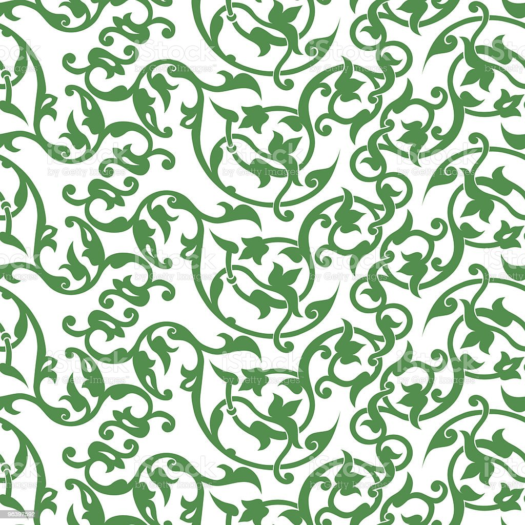 vector seamless flourish pattern - Royalty-free Abstract stock vector