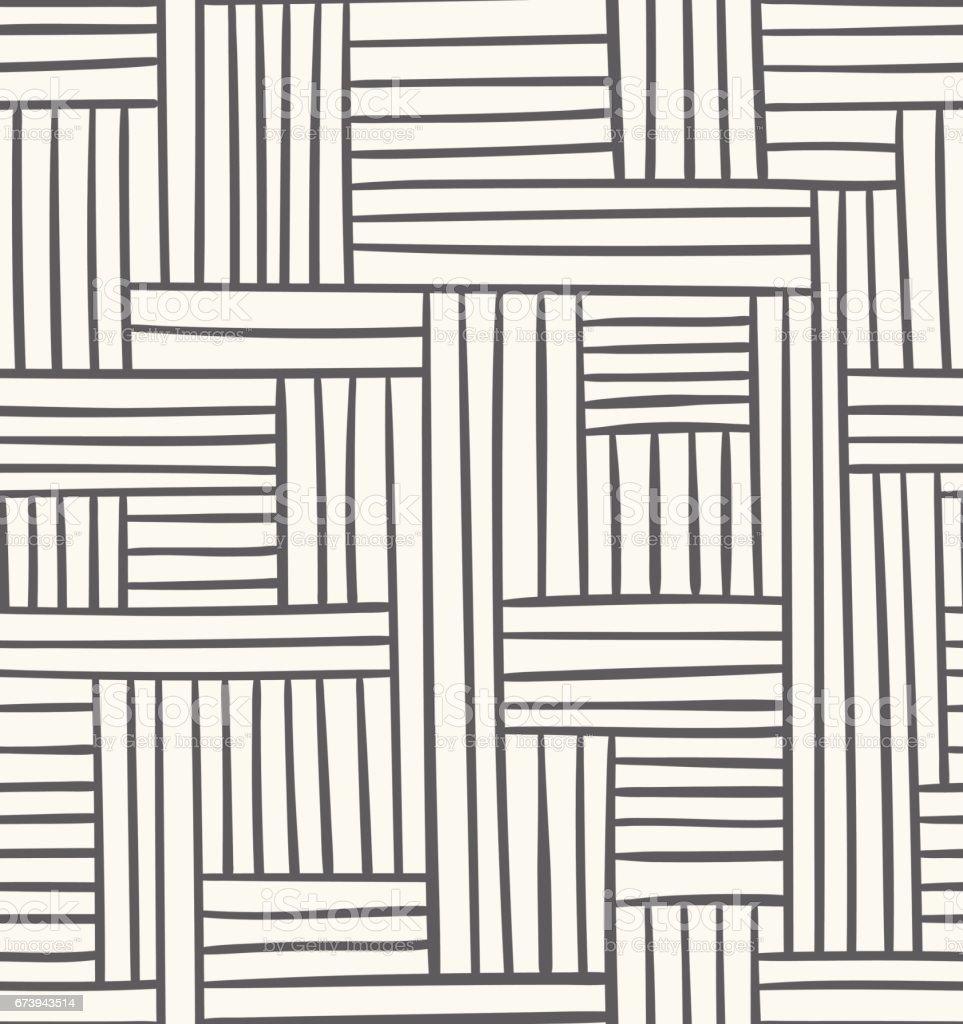 Vector seamless geometric pattern. Abstract illustration in grey color vector seamless geometric pattern abstract illustration in grey color - arte vetorial de stock e mais imagens de abstrato royalty-free