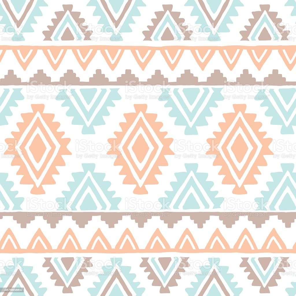 Vector Seamless Geometrical Pattern vector art illustration