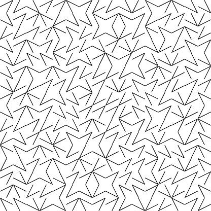 벡터 원활한 형상 Truchet 패턴 0명에 대한 스톡 벡터 아트 및 기타 이미지