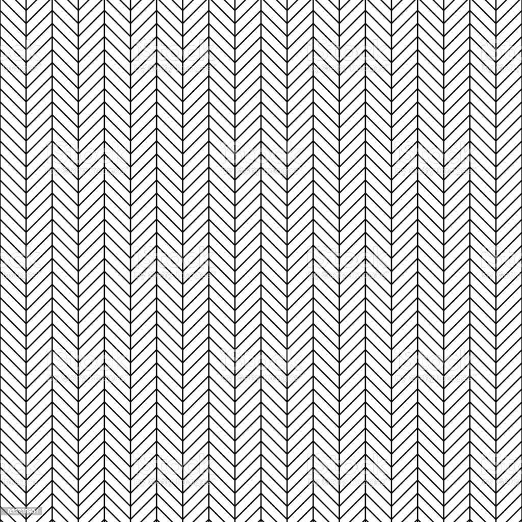 Line Texture Vector : Vector seamless herringbone pattern geometric line texture