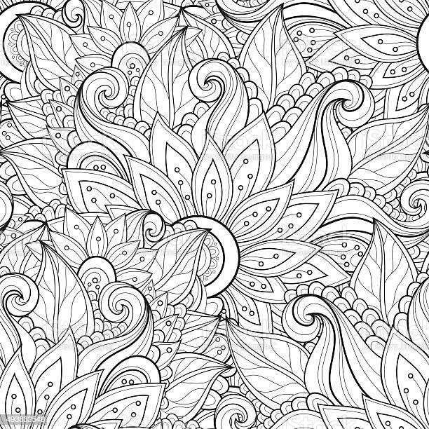 Vector seamless monochrome floral pattern vector id493832546?b=1&k=6&m=493832546&s=612x612&h=uoiu5anbxywi0rucpn9dnnw13hr7ipjw2bolamot ng=