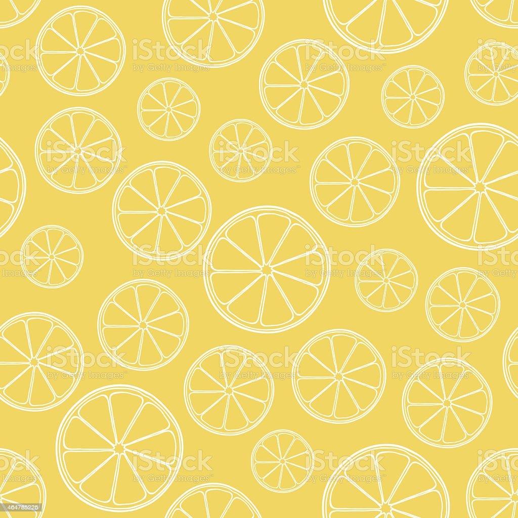 vector seamless orange pattern vector art illustration