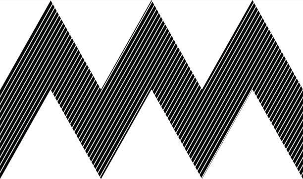 vector seamless pattern. abstrakt-geometrischen - avantgarde stock-grafiken, -clipart, -cartoons und -symbole