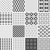 Vector seamless pattern collection