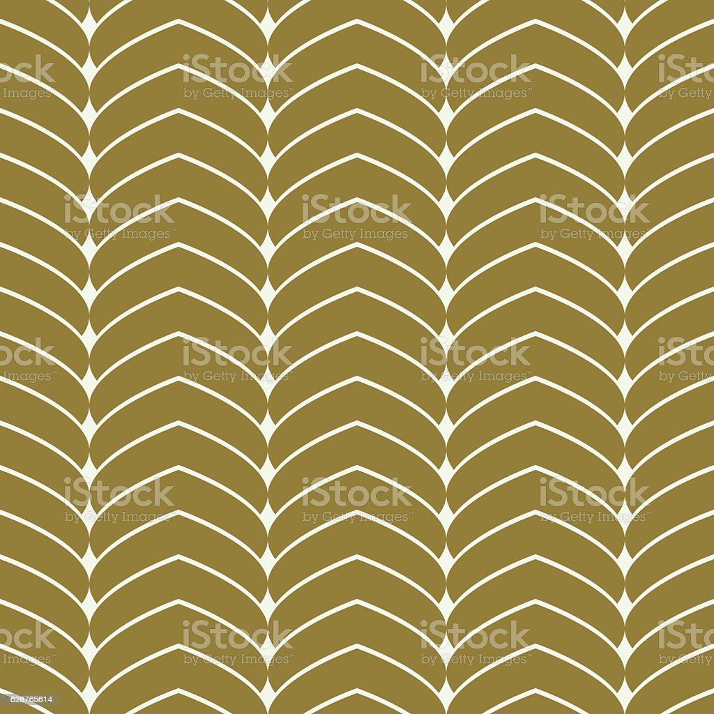 Vector seamless pattern, fish scale idea graphic geometric vector art illustration