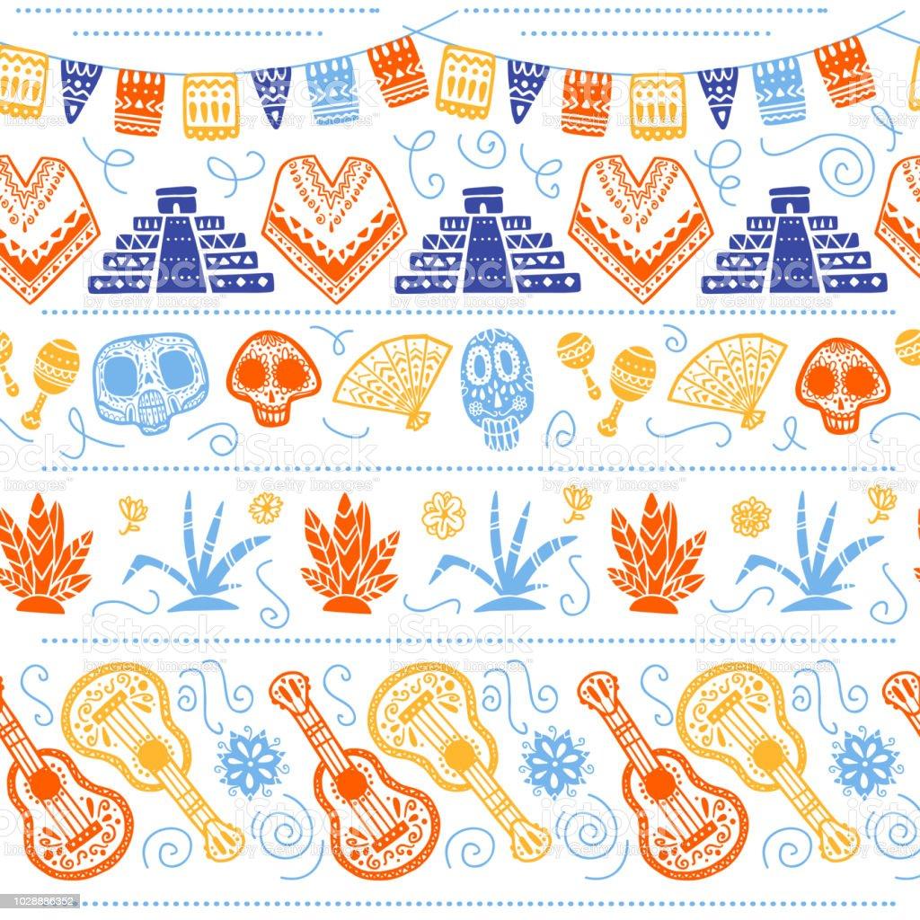 Ilustración de Patrones Sin Fisuras De Vector Para La Celebración ...
