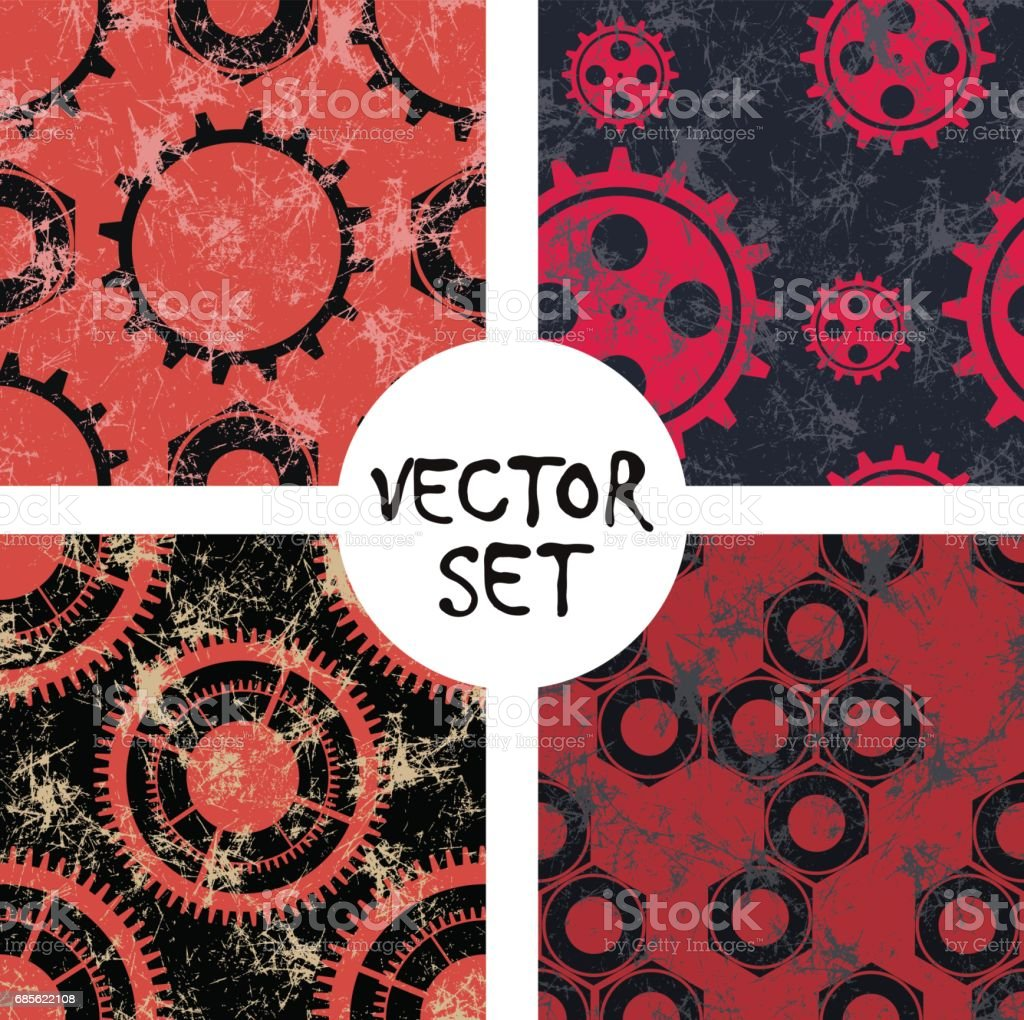 Vector seamless pattern, graphic illustration royalty-free vector seamless pattern graphic illustration stock vector art & more images of abstract