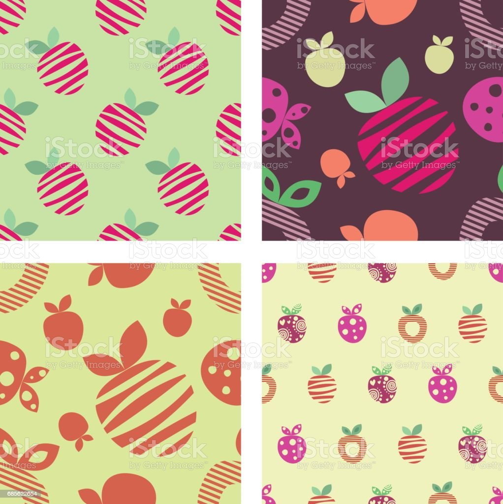 Vector seamless pattern, graphic illustration 免版稅 vector seamless pattern graphic illustration 向量插圖及更多 健康食物 圖片