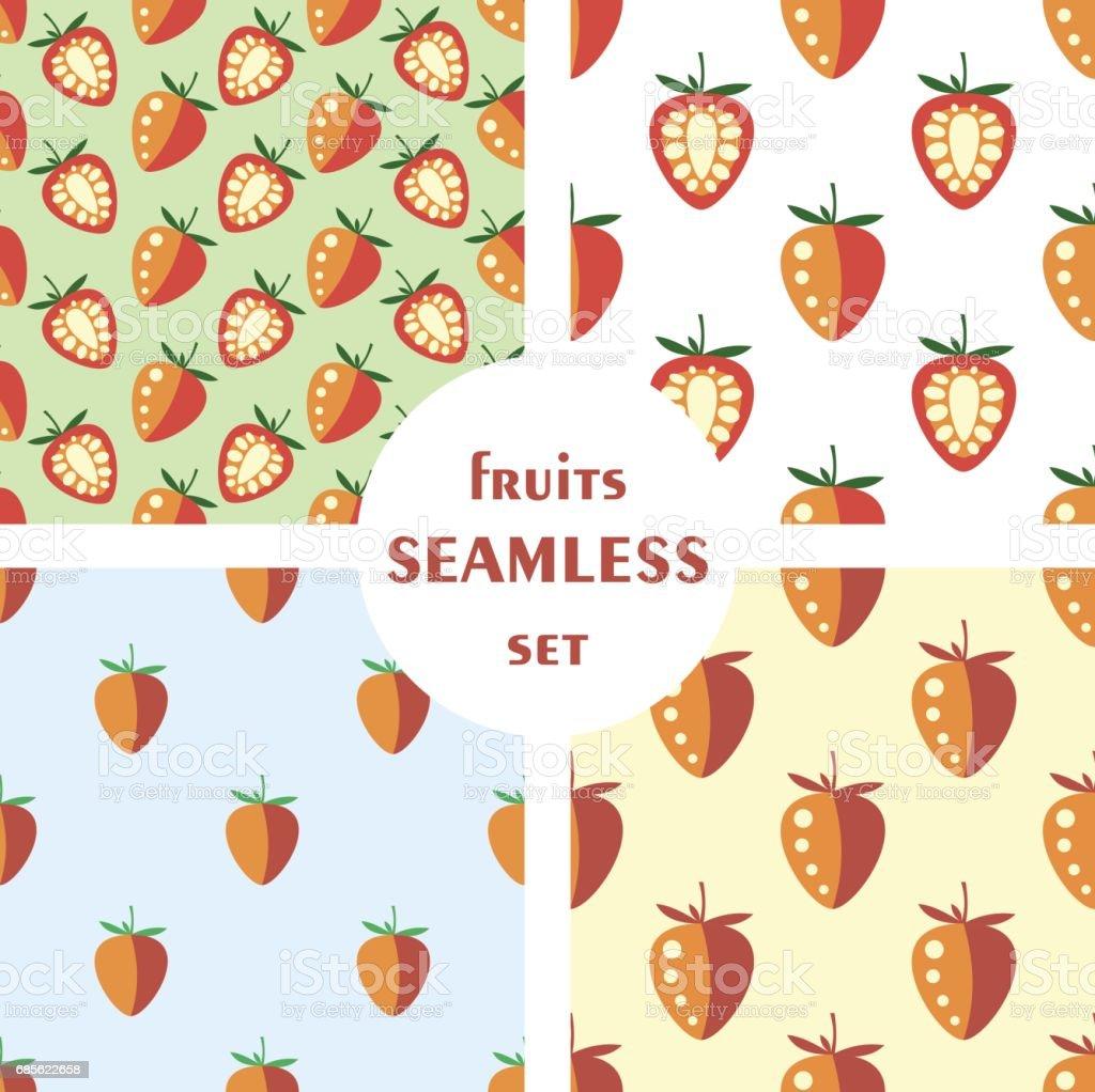 Vector seamless pattern, graphic illustration vector seamless pattern graphic illustration - arte vetorial de stock e mais imagens de alimentação saudável royalty-free