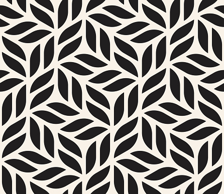 Vector Seamless Pattern Modern Stylish Abstract Texture Repeating Geometric Shapes From Striped ...