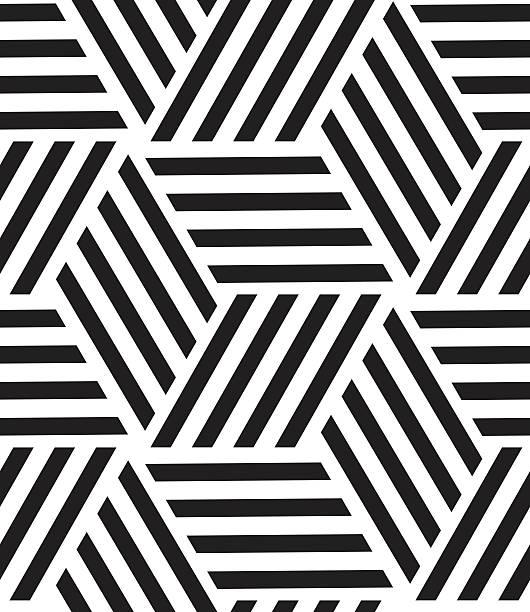 vektor nahtlose muster. moderne und stilvolle linie, geometrischen sechseck - palettenbilderrahmen stock-grafiken, -clipart, -cartoons und -symbole