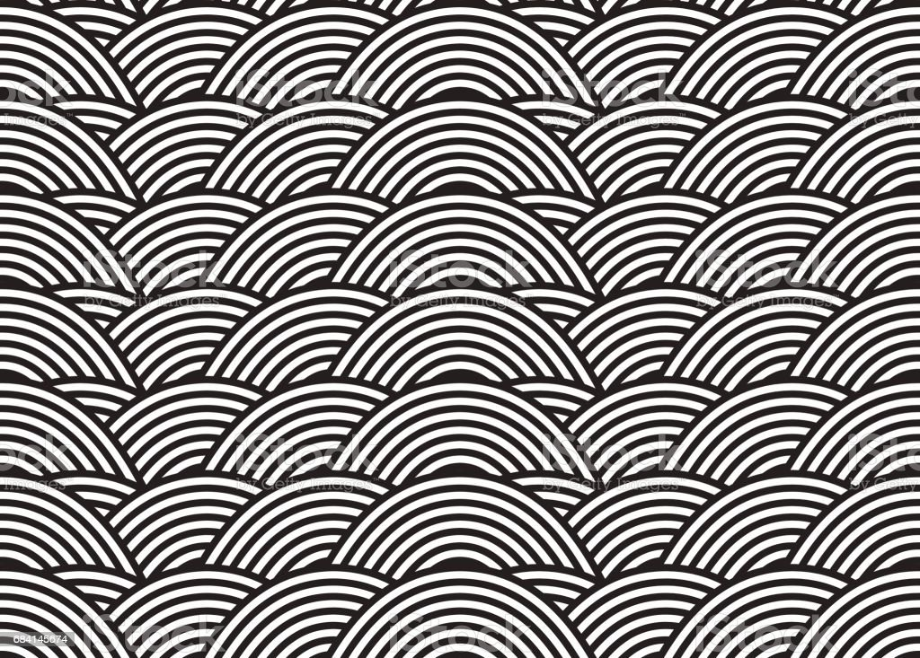 Vector seamless pattern. Modern stylish texture. Geometric striped ornament. Monochrome linear weaving. ロイヤリティフリーvector seamless pattern modern stylish texture geometric striped ornament monochrome linear weaving - イラストレーションのベクターアート素材や画像を多数ご用意