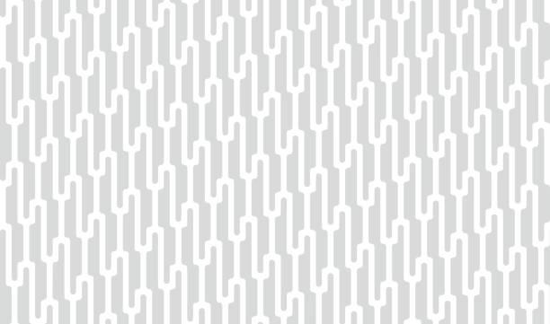 bildbanksillustrationer, clip art samt tecknat material och ikoner med vector sömlösa mönster. modern elegant textur. upprepande geometrisk bakgrund med linjär rutnät. randig prydnad. monokrom linjär flätor. - diagonala övergpångsställ