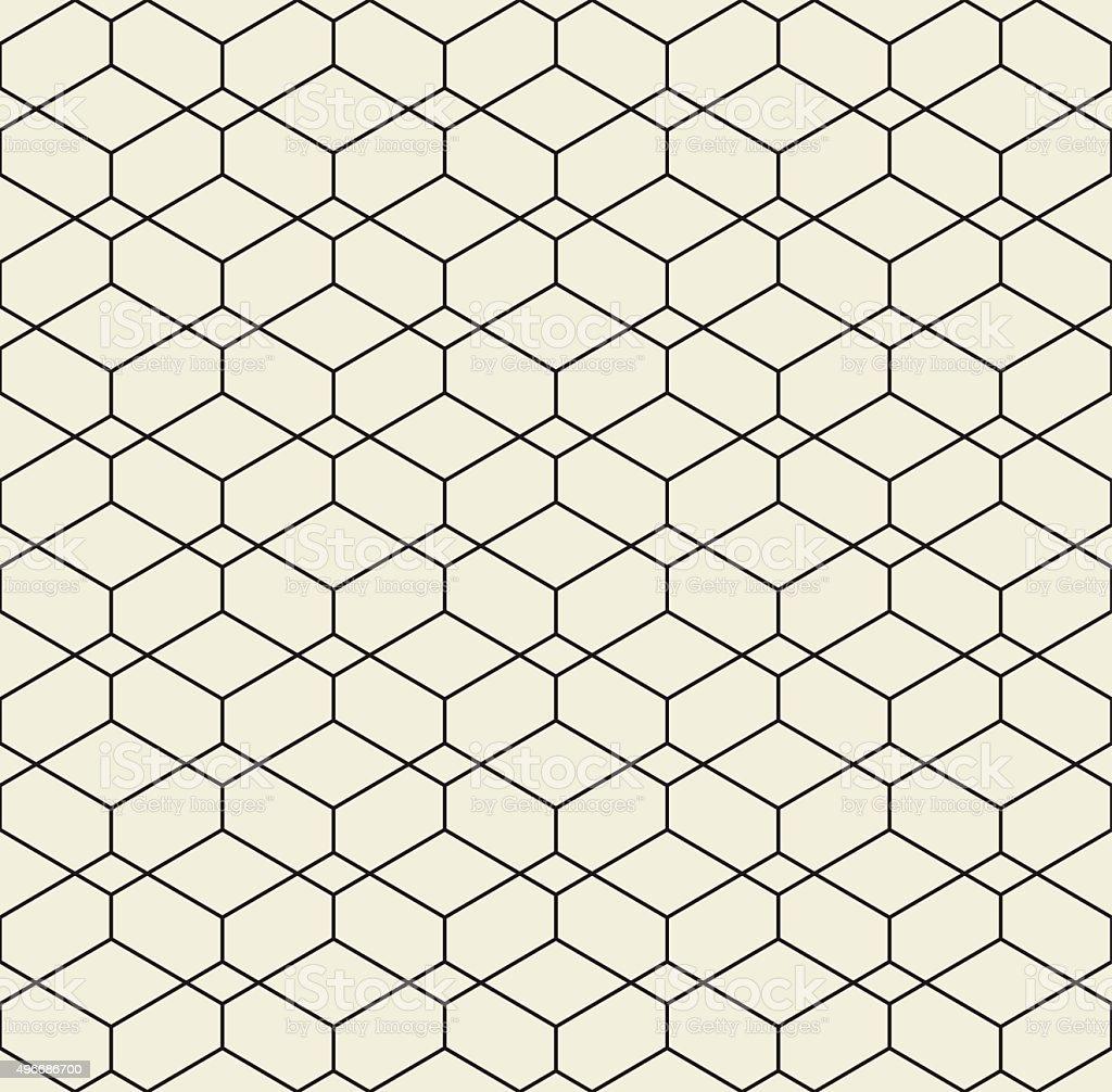 Vector seamless pattern. Modern stylish texture. vector art illustration