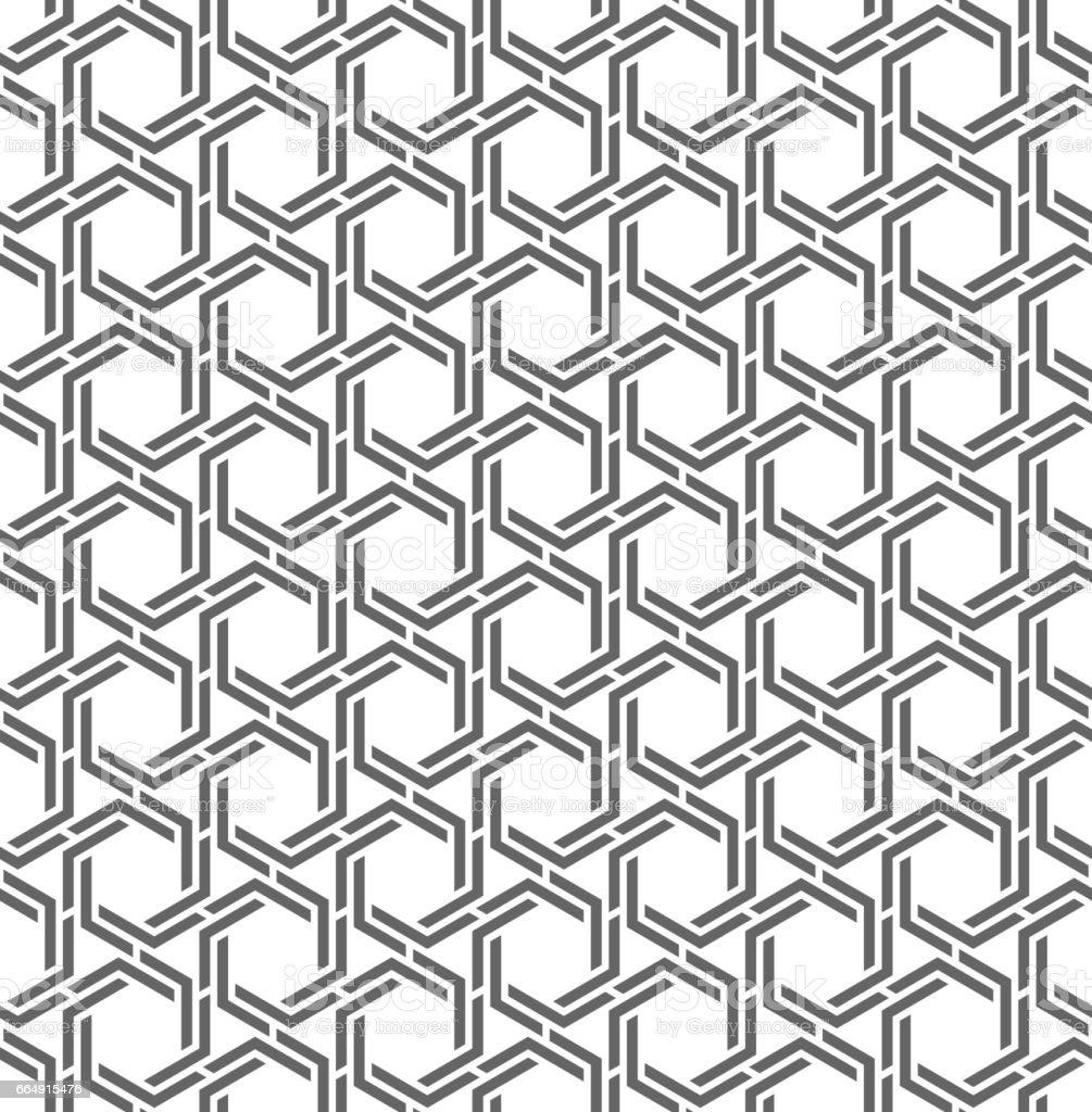 Vector seamless pattern. Modern stylish texture. vector seamless pattern modern stylish texture - immagini vettoriali stock e altre immagini di astratto royalty-free