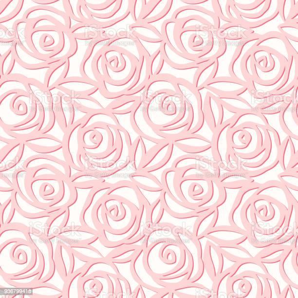 Vector seamless pattern of pink roses vector id936799418?b=1&k=6&m=936799418&s=612x612&h=ktynzxmngg hf93nv4mcograhwqsqcn5 tjw3rayevo=