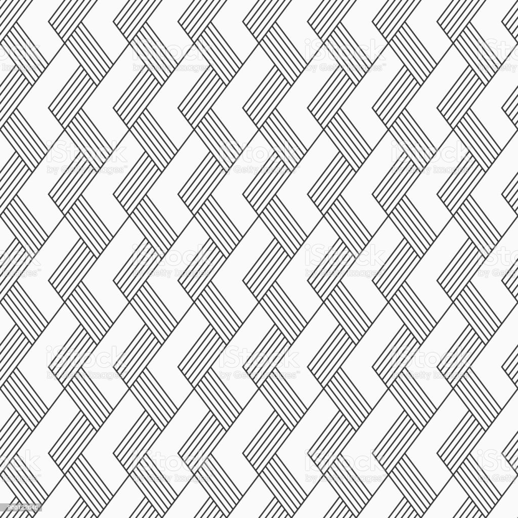 Vector seamless pattern. Regularly repeated inclined stripes. - Royalty-free Abstract stock vector
