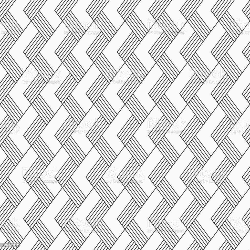 Vector sömlösa mönster. Regelbundet återkommande lutande ränder. - Royaltyfri Abstrakt vektorgrafik