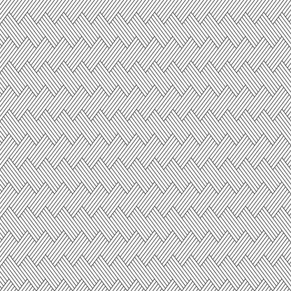 Vector Naadloze Patroon Regelmatig Herhaald Geneigd Strepen Stockvectorkunst en meer beelden van Abstract