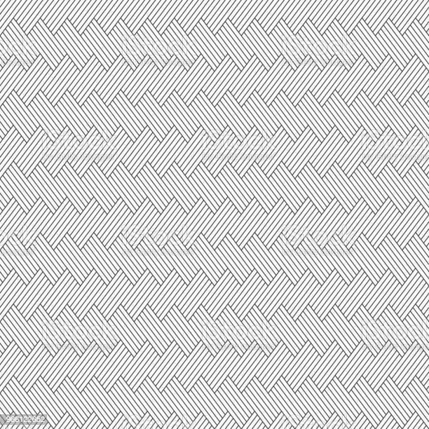 Vector Sömlösa Mönster Regelbundet Återkommande Lutande Ränder-vektorgrafik och fler bilder på Abstrakt