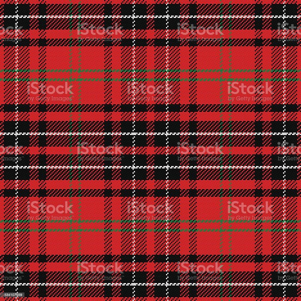 vector seamless pattern Scottish tartan vector art illustration