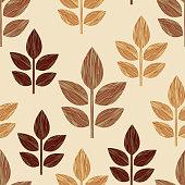 graphic  floral elements
