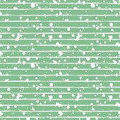 Vector seamless pattern, tile with inc splash, blots, smudge and brush strokes, lines. Grunge endless template for web background, prints, wallpaper, surface, wrapping, repeat elements for design.