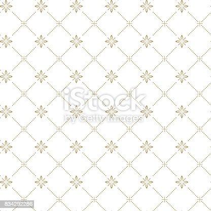 istock Vector seamless pattern 834292286