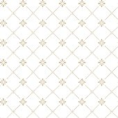 Vector seamless dark pattern with golden ornament. Ornate floral decor for textile, wallpaper, pattern fills, covers, surface, print, gift wrap, scrapbooking, decoupage