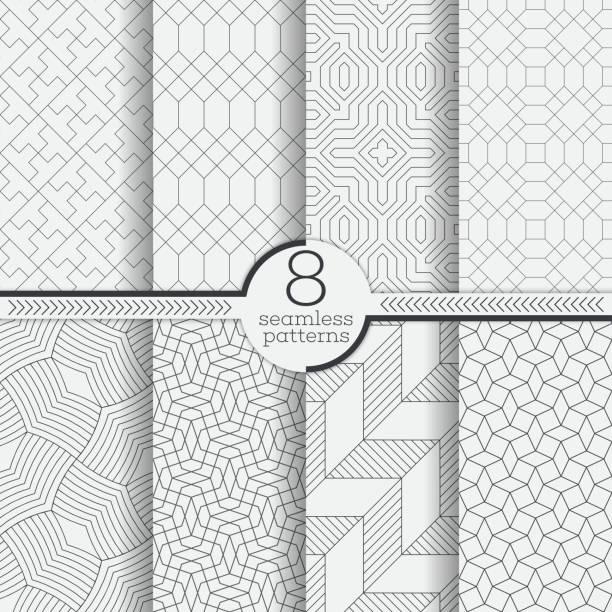 벡터 연속무늬  - 반복 stock illustrations