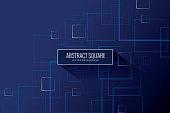Single Line, Geometric Shape, Cotton, Cube Shape, Decor