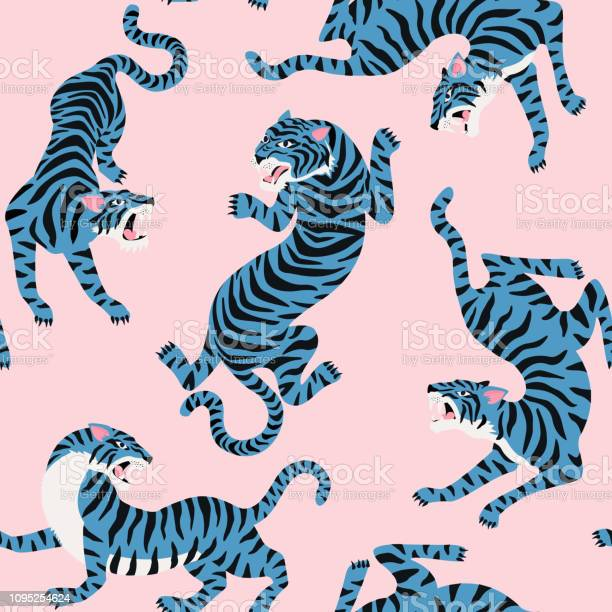 Vector seamless pattern with cute tigers on background vector id1095254624?b=1&k=6&m=1095254624&s=612x612&h=eb2baitil3g8bqgs0033zs6n88olcrlfg6wih qfldy=